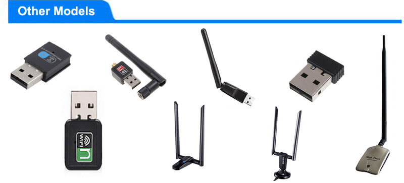 wireless adapter various models