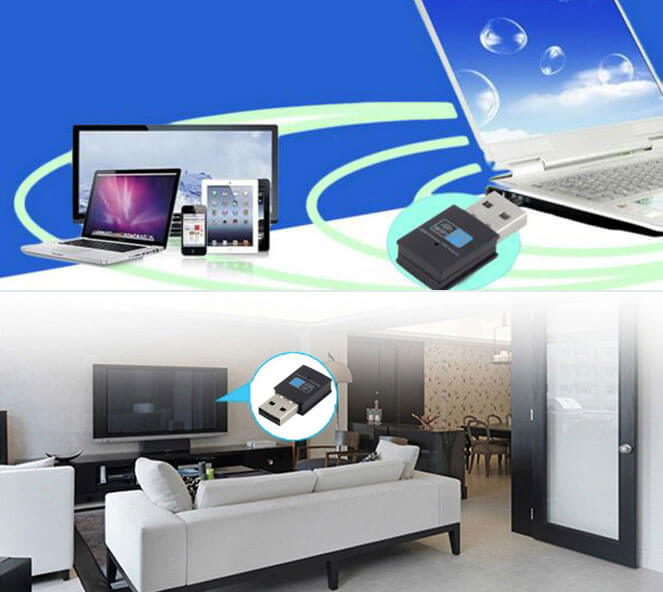 bluetooth USB wifi adapter applications