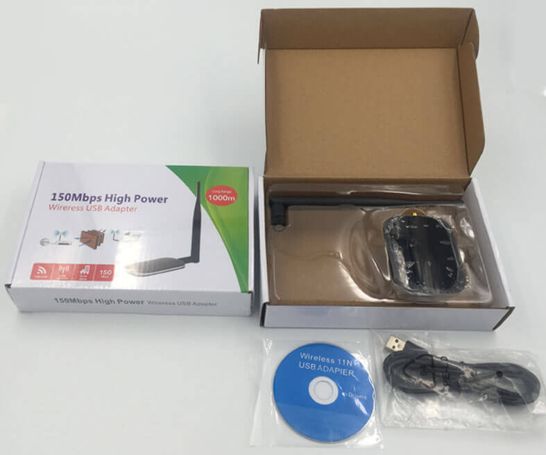 high power usb wifi adapter package