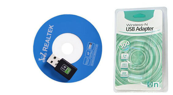 300m usb wireless adapter package