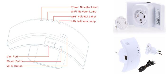 wireless wifi repeater details